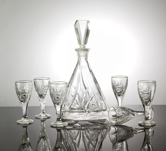 高质量内销品牌推销水晶白酒酒具礼盒套装
