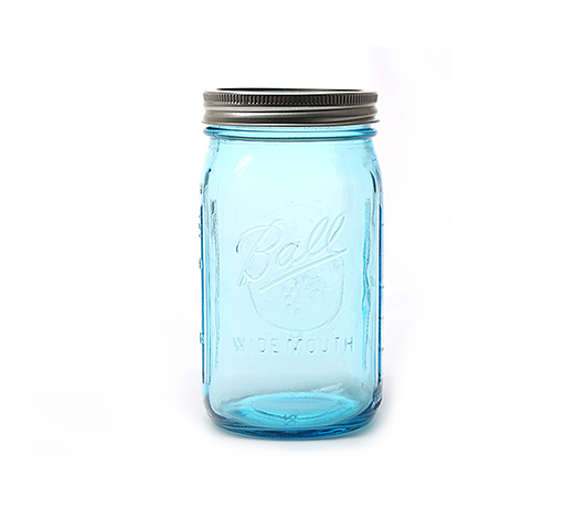 彩色果汁饮料玻璃公鸡杯,梅森瓶,带盖可配吸管,颜色多可RB88热博